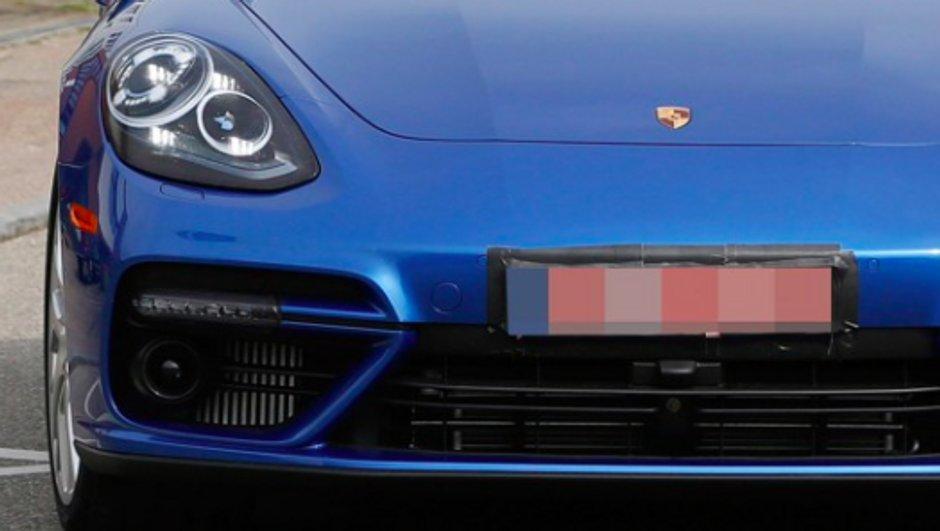 Scoop : la future Porsche Panamera 2016 presque à nue