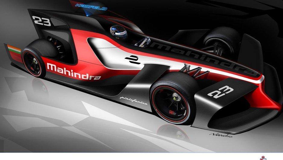 Formule E : Mahindra et Pininfarina dévoilent leur 3 concepts pour la compétition
