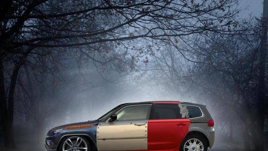 Une société d'assurance anglaise imagine la voiture la moins fiable du marché !