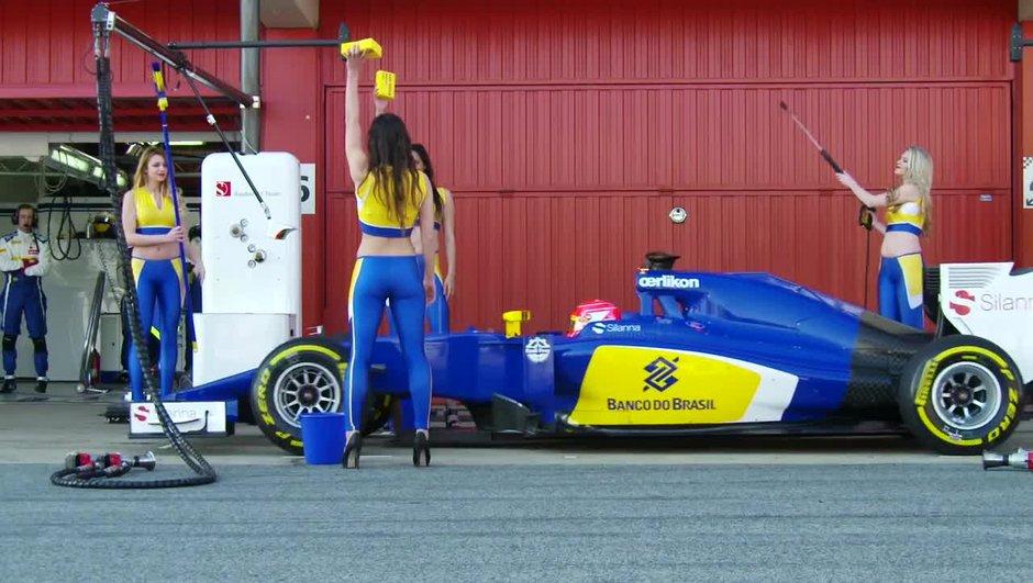 VIDEO Insolite – F1: L'arrêt au stand sexy façon Sauber