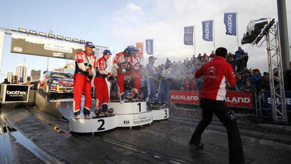 WRC : Les classements après le rallye de Nouvelle-Zélande