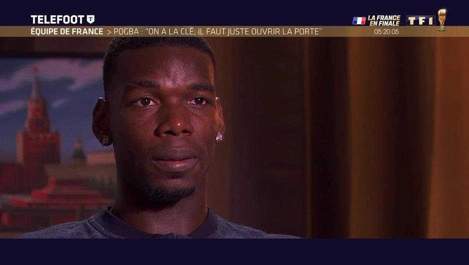 """[Exclu Téléfoot 15/07] - Pogba : """"On va prendre la finale comme si c'était le dernier match de notre vie"""""""