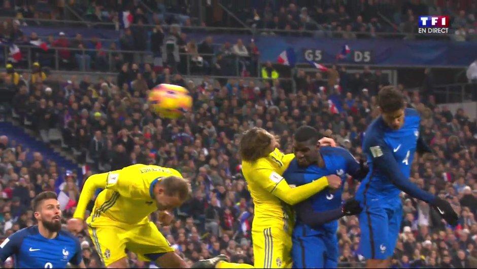 France - Suède : Pogba permet aux Bleus de revenir (1-1)