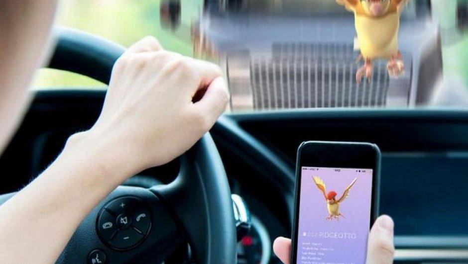 Pokémon Go fait ses premiers accidents de la route en France