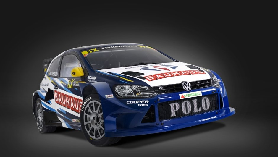 Rallycross 2016 : voici la VW Polo RX Supercar