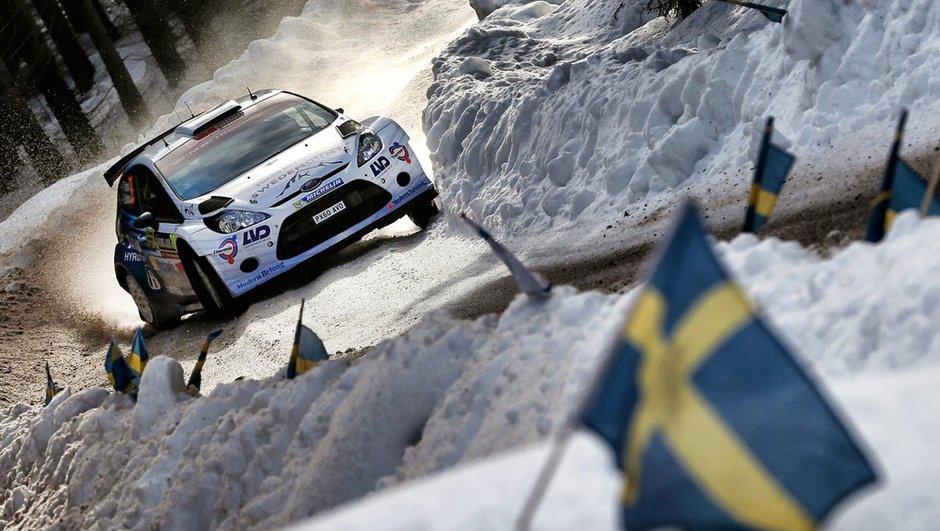 Rallye WRC de Suède 2015 : Tidemand et Ford frappent d'entrée de jeu