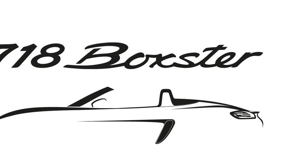 Porsche 718 Boxster et Cayman : nouveau nom et moteur 4 cylindres pour 2016