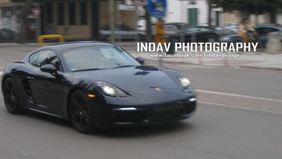 Scoop : le futur Porsche 718 Cayman surpris en Italie