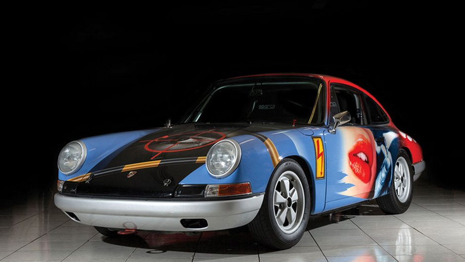 Une Porsche 911 Art Car « 007 » aux enchères !