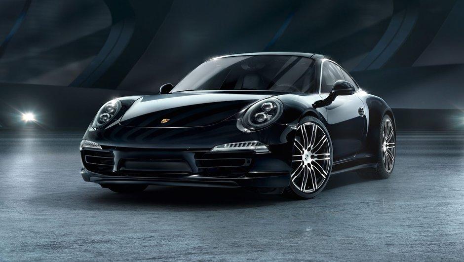 """Porsche 911 et Boxster Black Edition : une série spéciale """"noir c'est noir"""""""