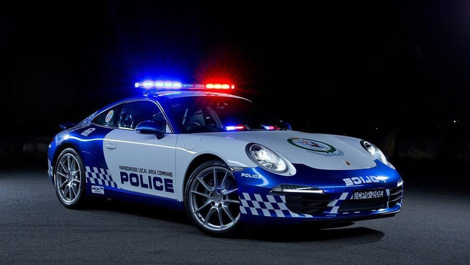 """Insolite : la Porsche 911, nouveau """"jouet"""" de la police australienne"""