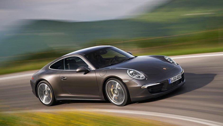 Mondial de l'Auto 2012 : Porsche 911 Carrera 4 et 4S, plaisir intégral