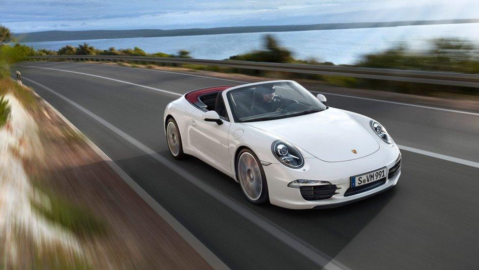 Nouvelle Porsche 911 Cabriolet : les photos officielles