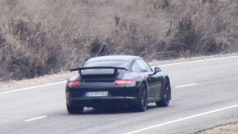 Scoop : la nouvelle Porsche 911 GT3 2012
