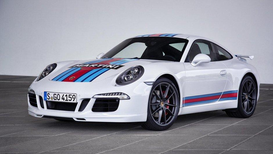 Porsche 911 Martini Racing 2014 : l'édition pour le retour aux 24H du Mans