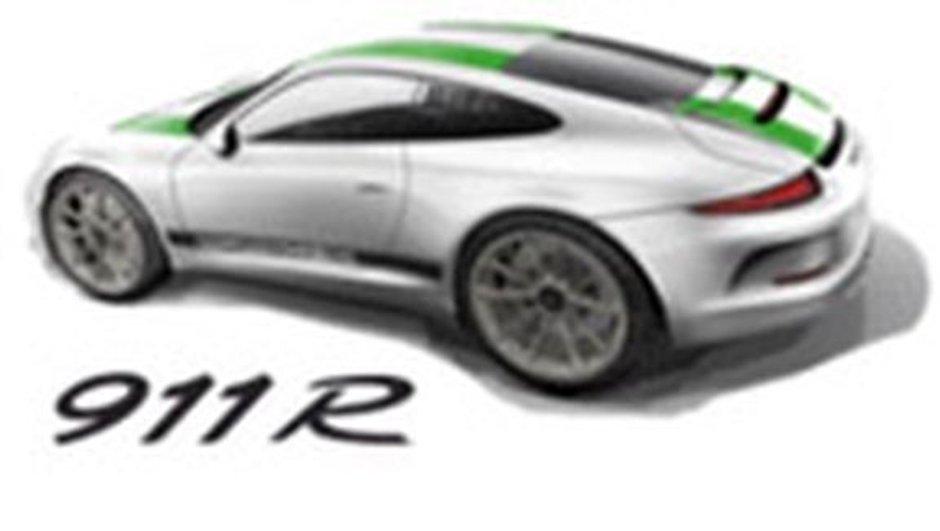 Porsche 911 R : version atmo et boîte manuelle pour puristes ?