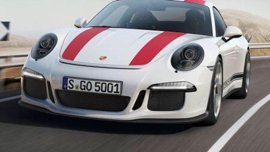 Nouvelle Porsche 911 R 2016 : premières photos d'un futur classique