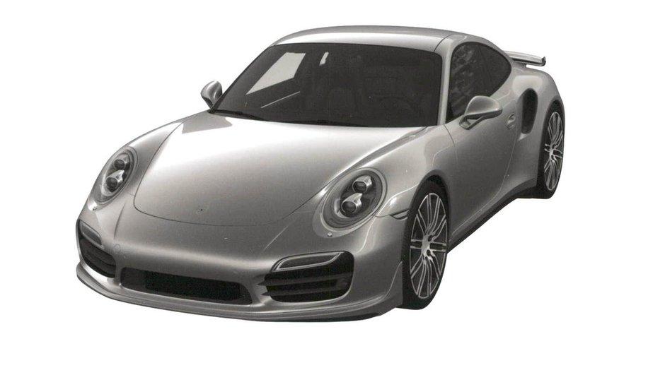 Scoop : est-ce la Porsche 911 Turbo 2015 ?