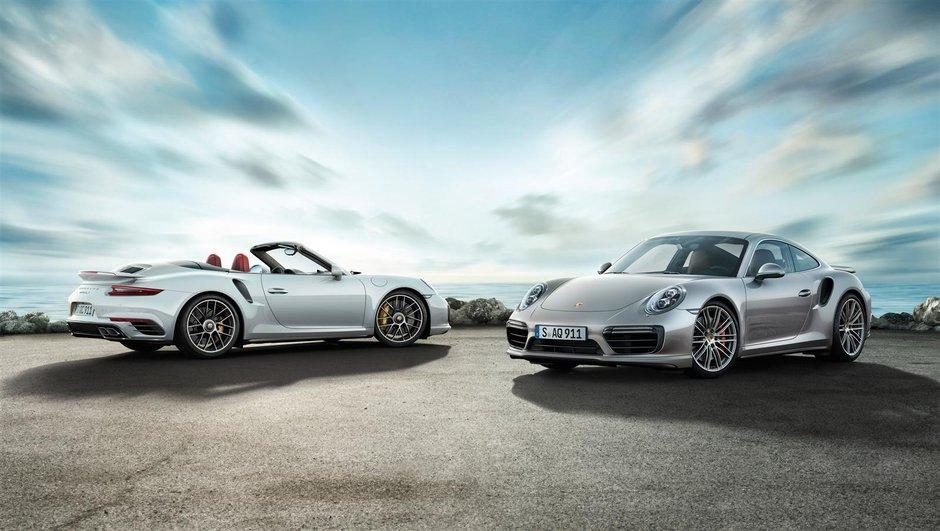 Porsche 911 Turbo 2016 : les prix à partir de 177.695 euros