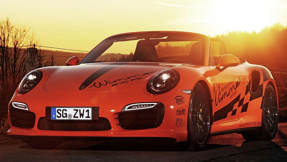 Tuning : Wimmer pousse la Porsche 911 Turbo S Cabriolet