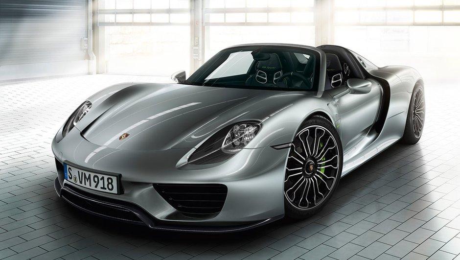 Porsche 918 Spyder : tous les exemplaires vendus !