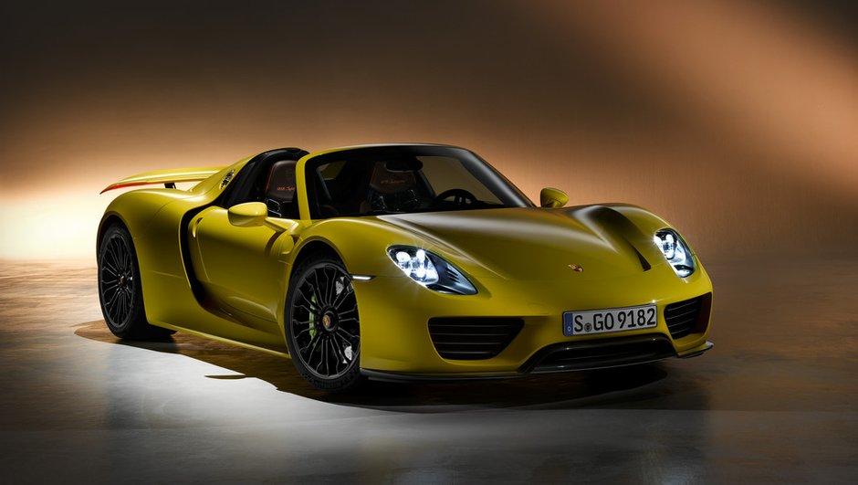 Porsche rappelle 205 exemplaires de sa 918 Spyder