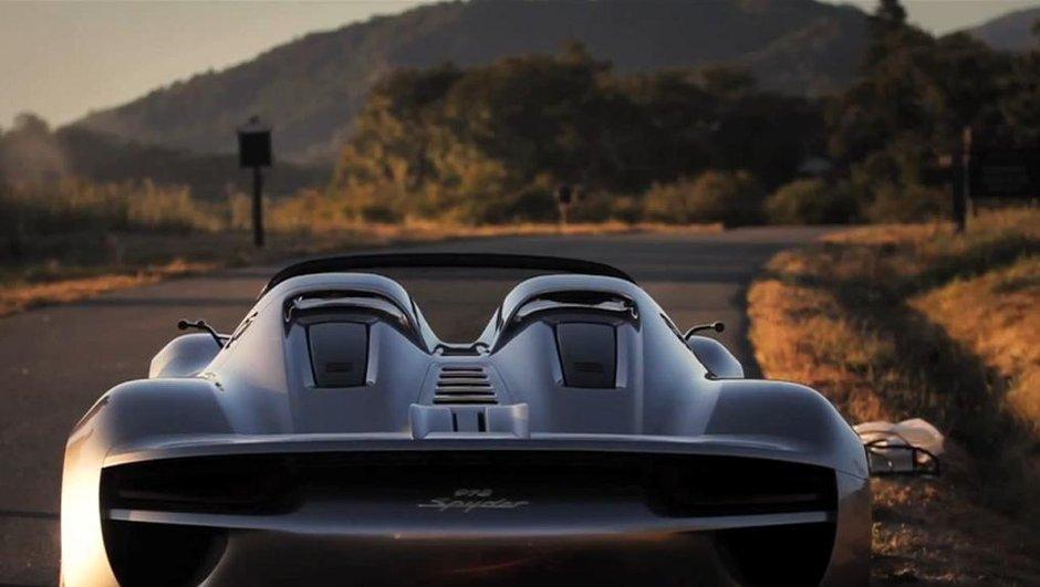 Porsche 918 Spyder Concept : en vidéo à Monterey