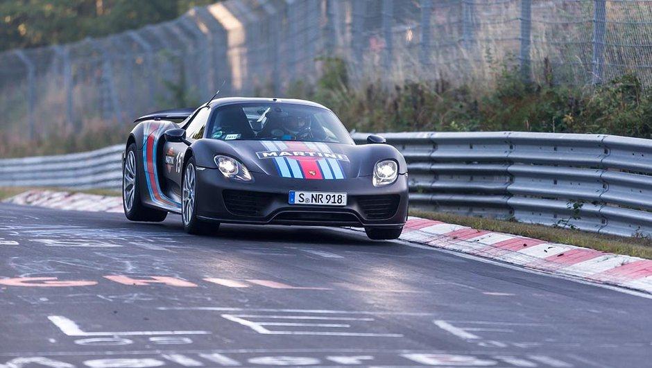 Porsche 918 Spyder : record au Nürburgring pour une voiture de série !