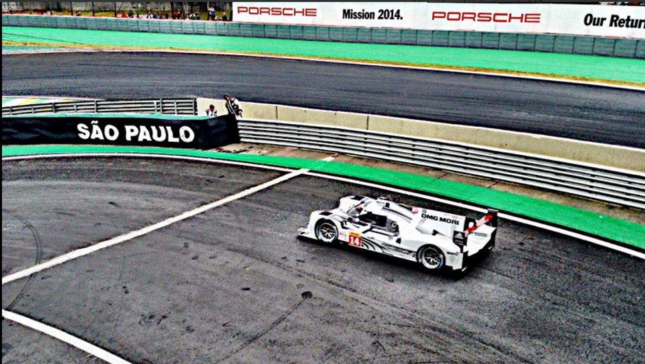 Endurance - 6h de Sao Paulo : Porsche en tête lors des derniers essais