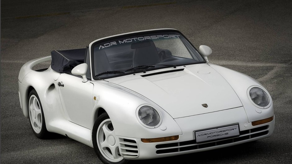 Occasion du jour: l'unique Porsche 959 Cabriolet en vente
