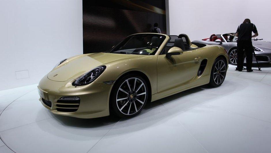 Salon de Genève 2012 : nouvelle Porsche Boxster, génération mature