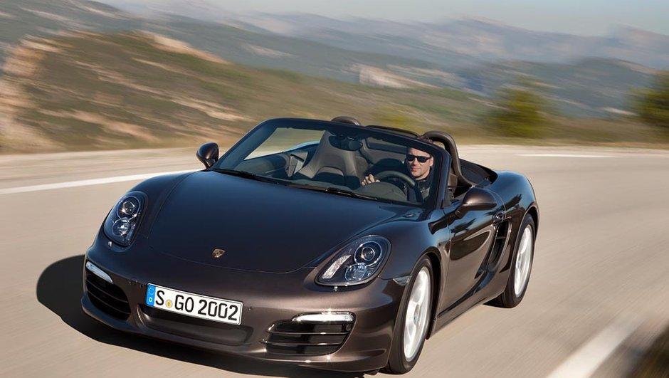 Voici la nouvelle Porsche Boxster !