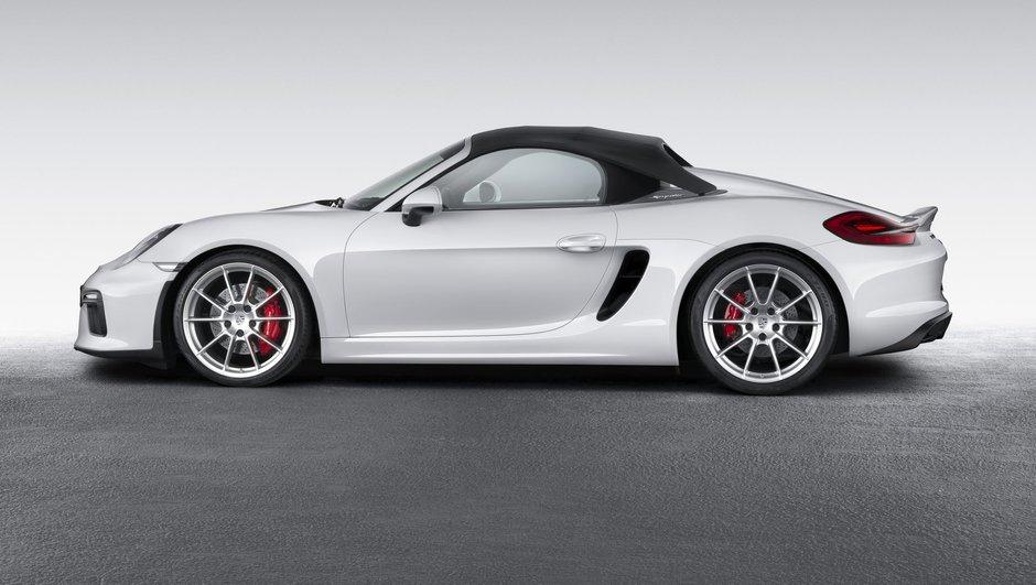 Salon de New York 2015 : nouvelle Porsche Boxster Spyder, plus racée que jamais