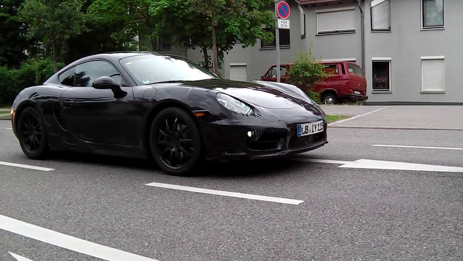 Scoop vidéo : la future Porsche Cayman 2013 !