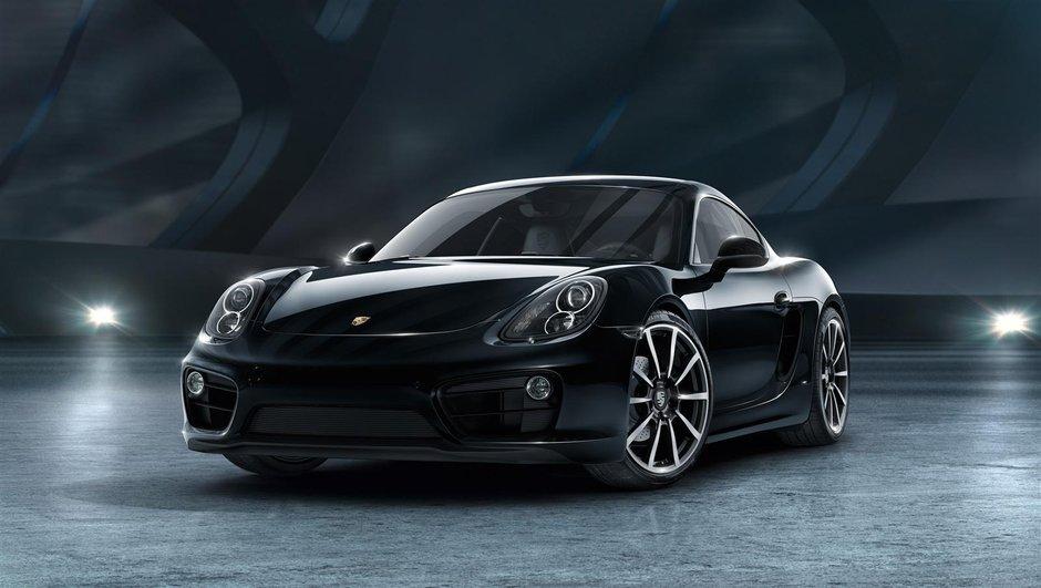 Porsche Cayman Black Edition 2015 : enfin la série spéciale