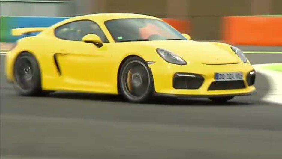 Exclusivité : La Porsche Cayman GT4 à l'essai
