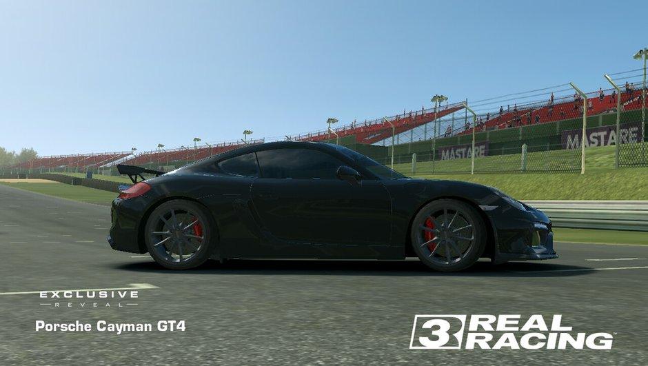Nouvelle Porsche Cayman GT4 2015 : déjà dans un jeu vidéo !