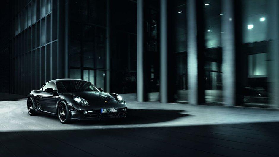 Porsche Cayman S Black Edition : Noir désir de 330 chevaux