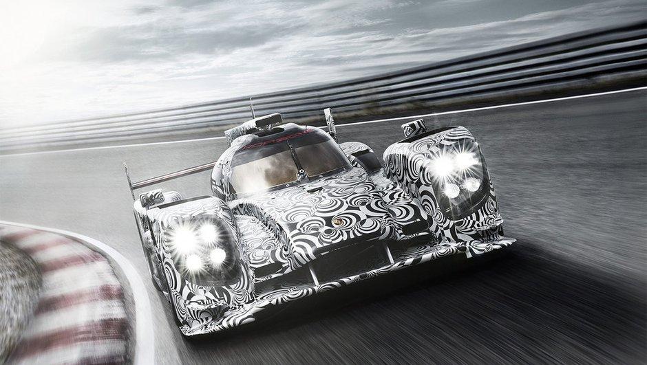 Porsche LMP1 2014 : nouvelles photos et une vidéo !