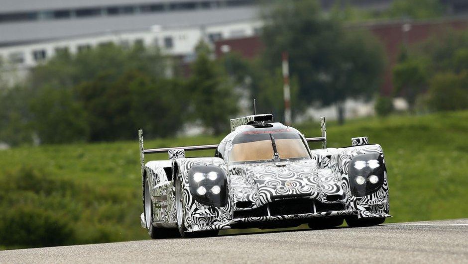 Endurance/24h Mans 2014 : 1ères photos du prototype Porsche LMP1