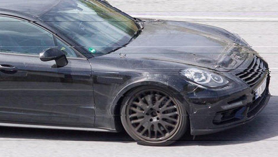 Scoop : serait-ce la future Porsche Mission E ?