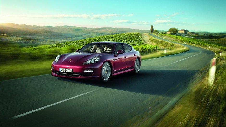Porsche Panamera : un diesel pour 2011