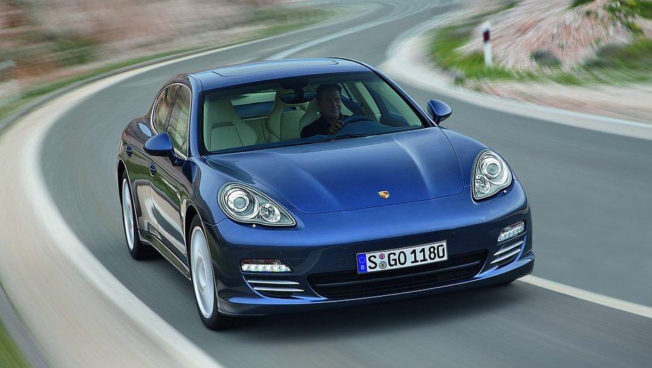 La Porsche Panamera hybride au salon de Genève ?