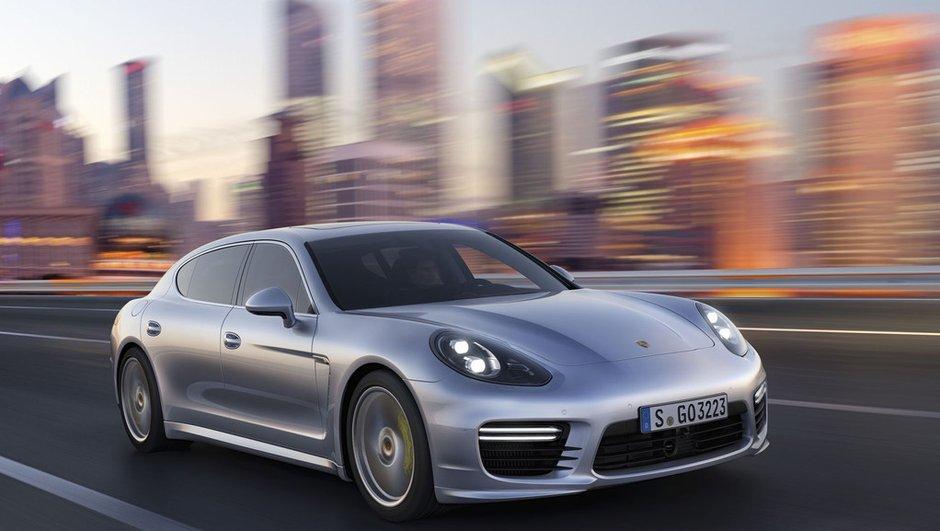 Porsche Panamera 2013 : retouches, hybride 416 ch et cure de vitamines