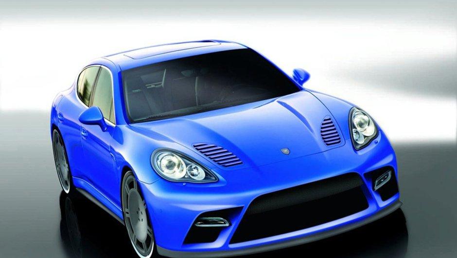 Porsche Panamera by 9ff : brute de décoffrage