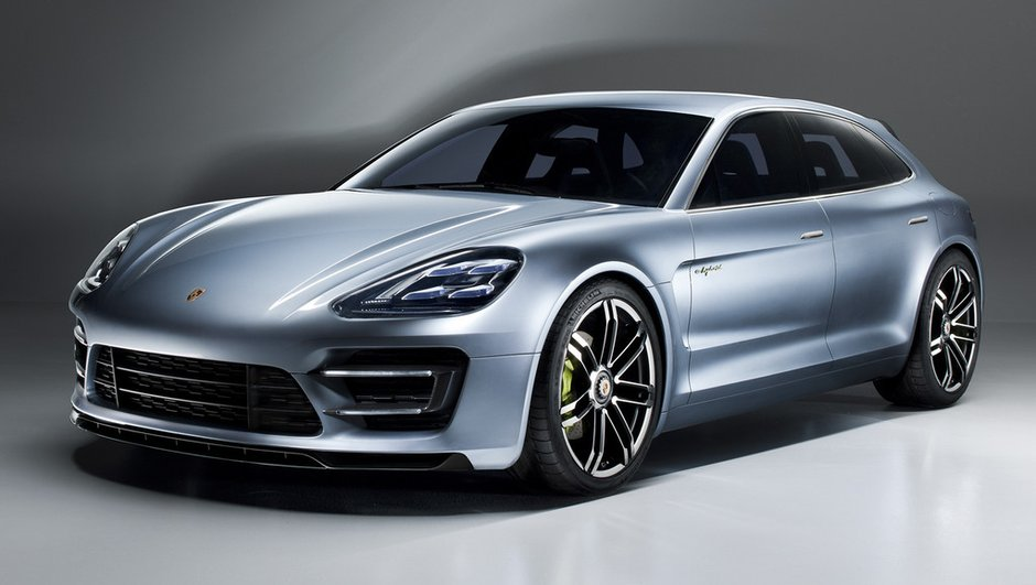 Mondial de l'Auto 2012 : Porsche Panamera Sport Turismo Concept