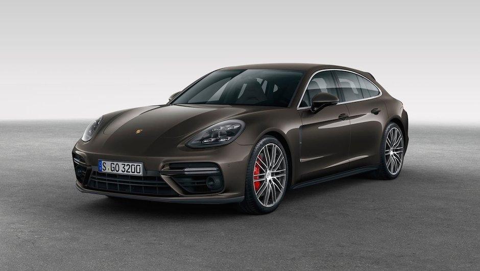 Le design de la Porsche Panamera Sport Turismo dévoilé ?
