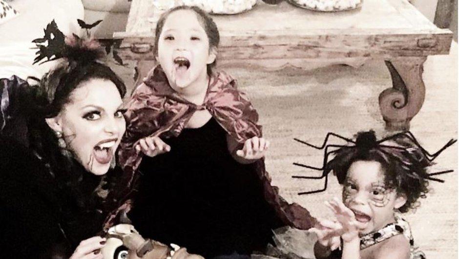 L'adorable portrait de famille de Katherine Heigl spécial Halloween