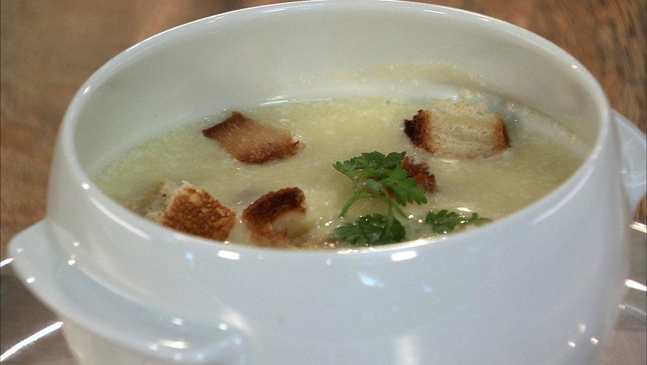 Soupe à l'ail (le tourin)