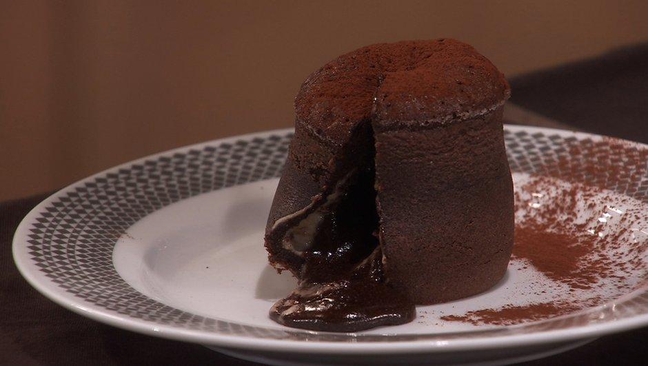 Moelleux au chocolat coeur de châtaigne